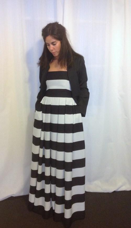 vestido rallas marta martí