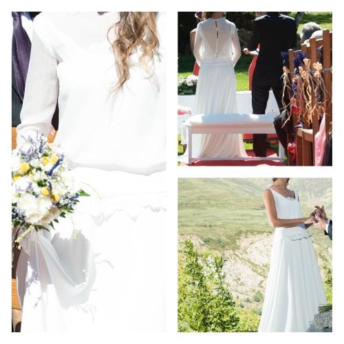 vestido novia campo marta martí